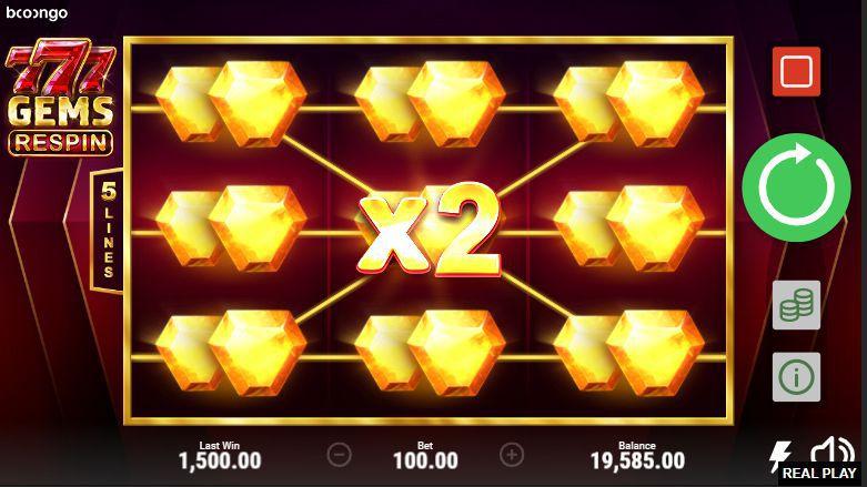 777 Gems Respin Online Slot